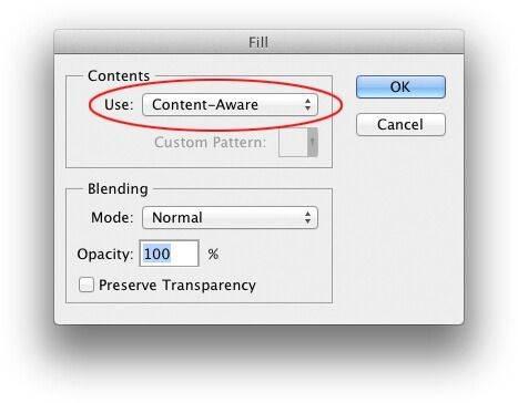 Content-Aware Fill piximfix