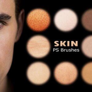 skin retouchin brush